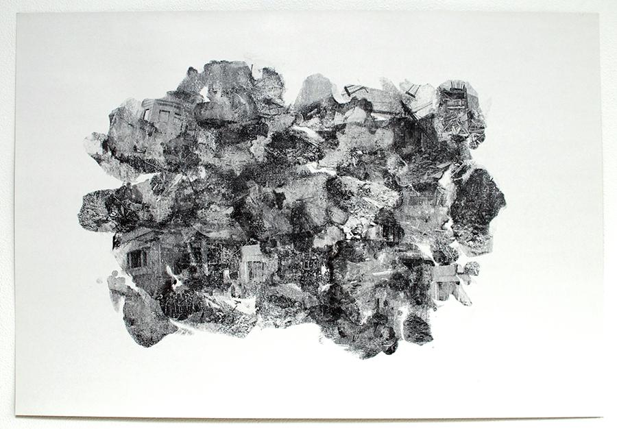 Master Plan / #cloud landscape#3 - 77x113 cm