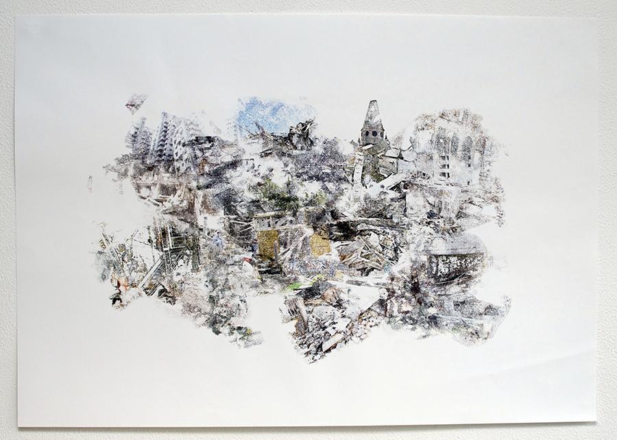 Master Plan / #public space - 70x100 cm