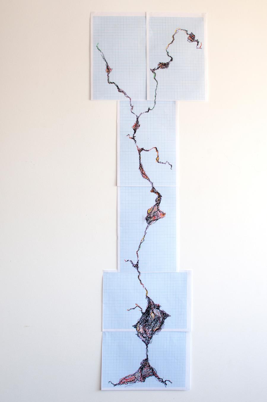 Henduras#4 - 120x42 cm