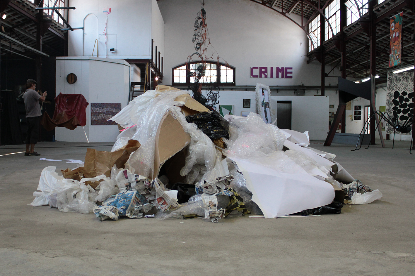 Totem, 2012   installation   francesco di tillo