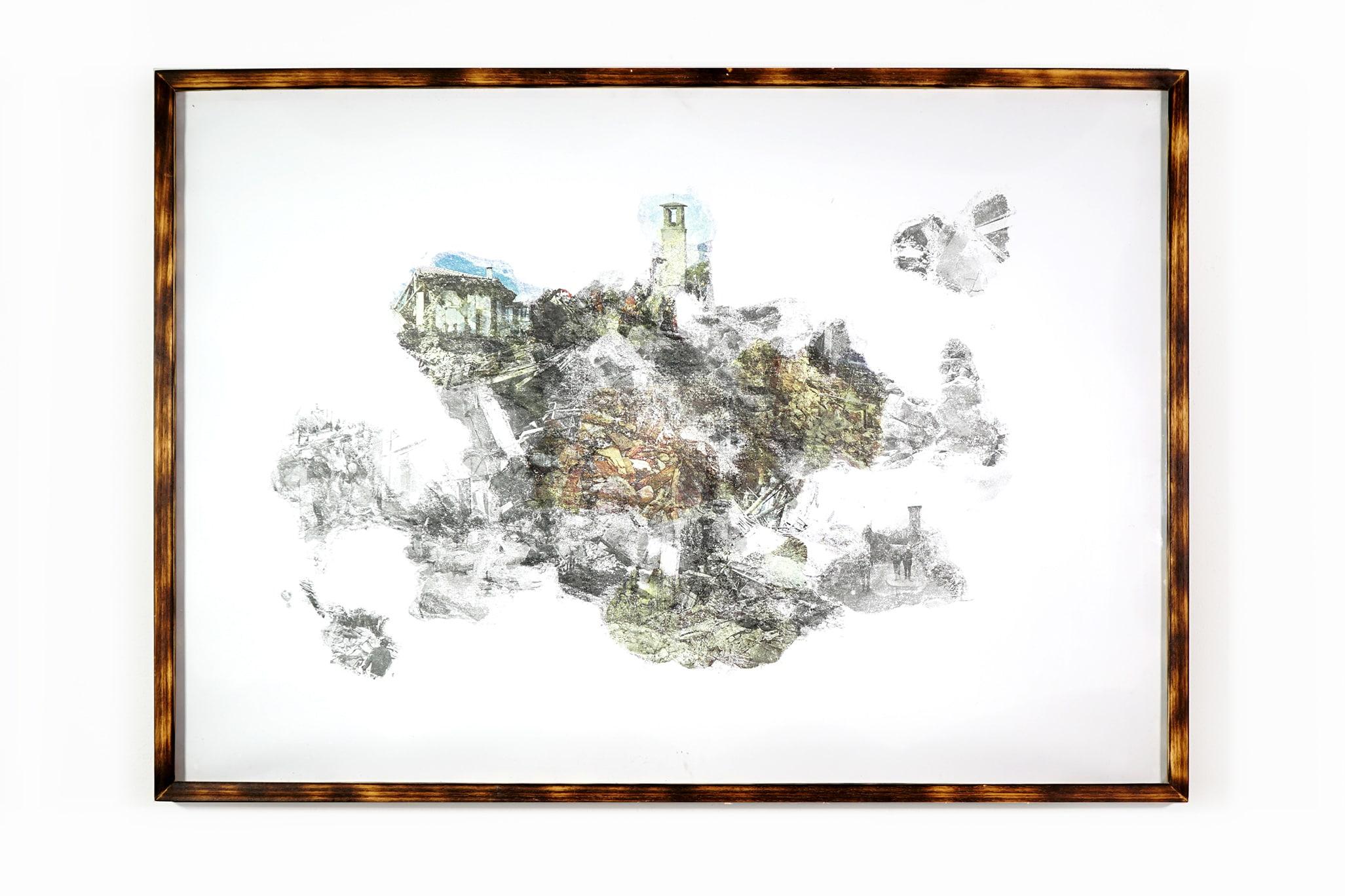 urban equalization #003 - 73x103cm with frame