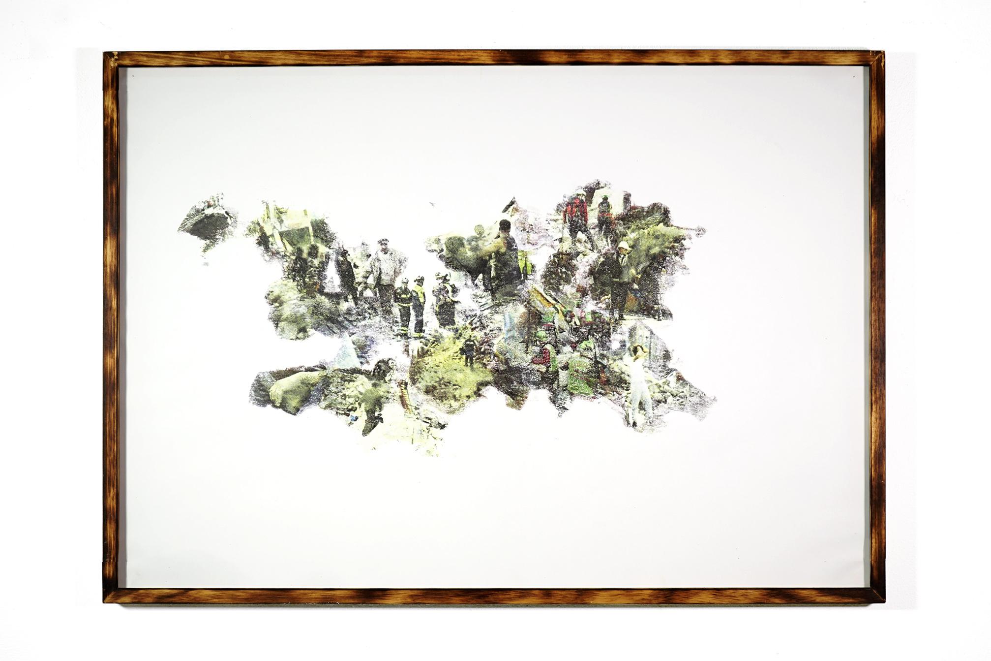 public program - 73x103cm with frame