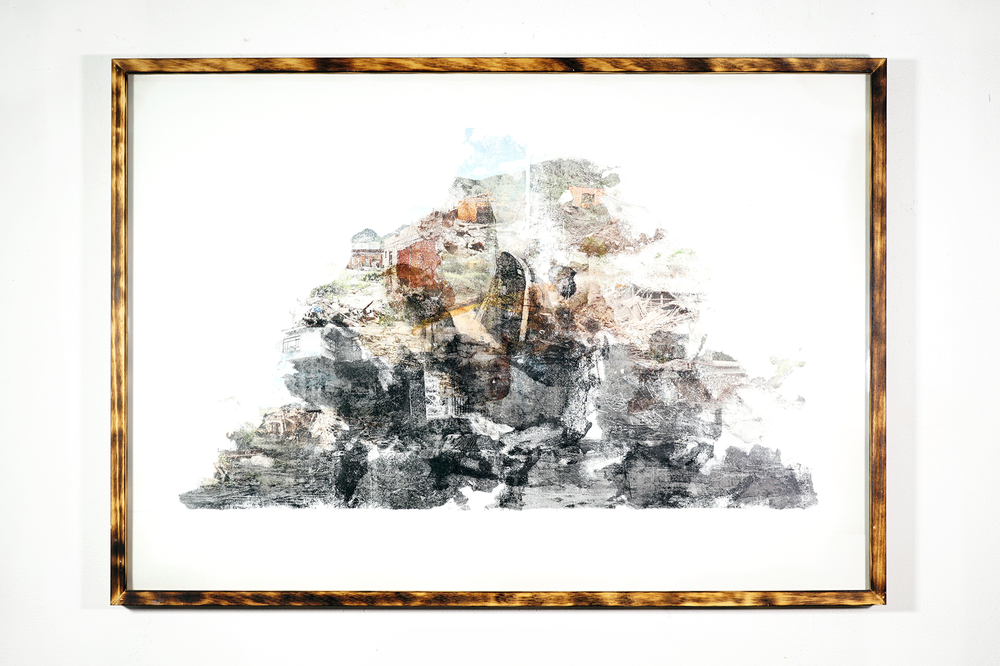 sustainability #001 - 73x103cm with frame