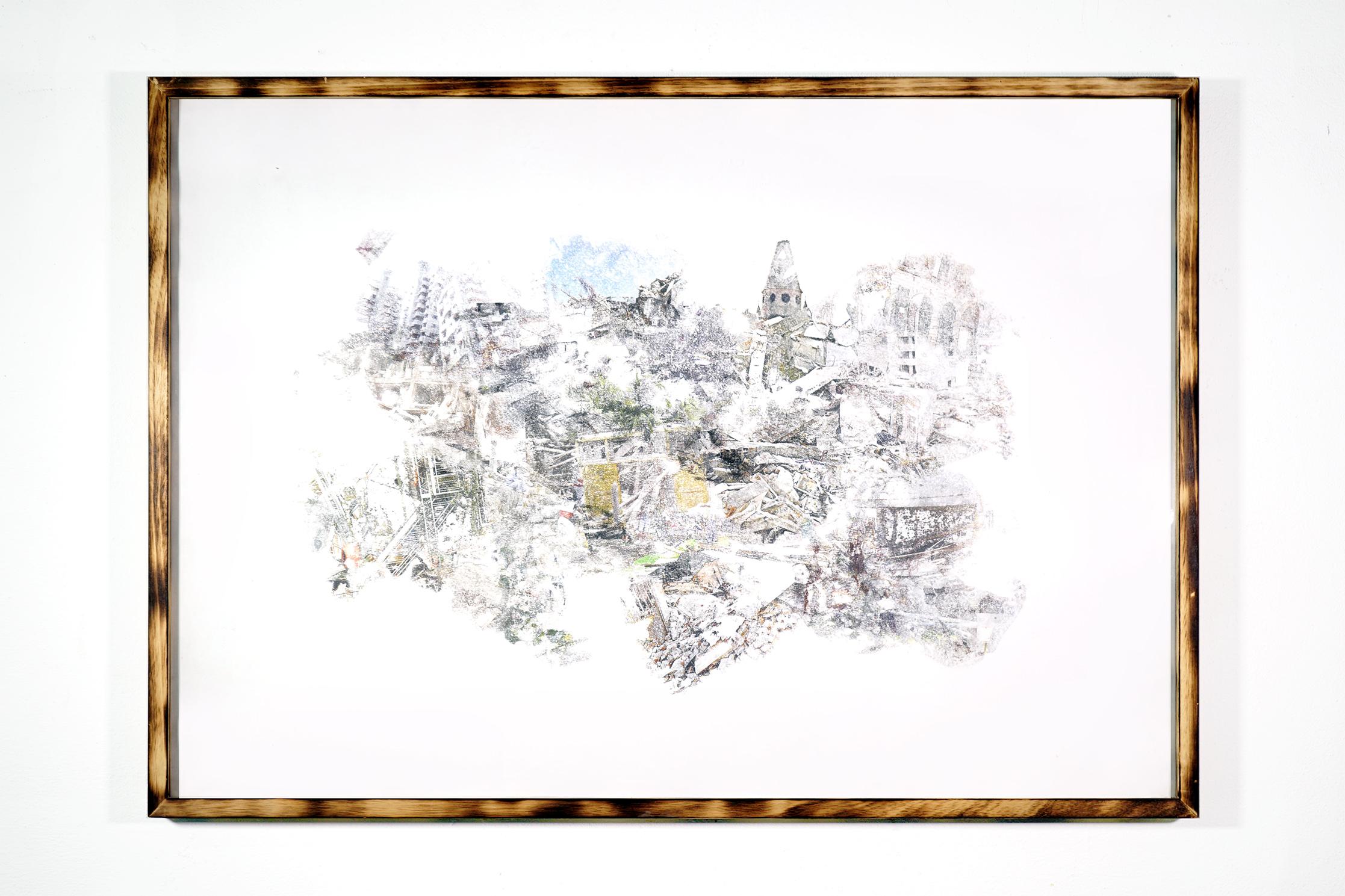 urban equalization #001 - 73x103cm with frame