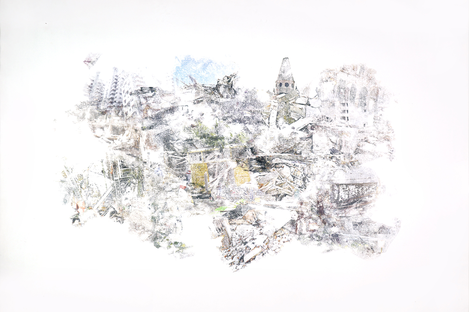 urban equalization #001 - 70x100cm without frame