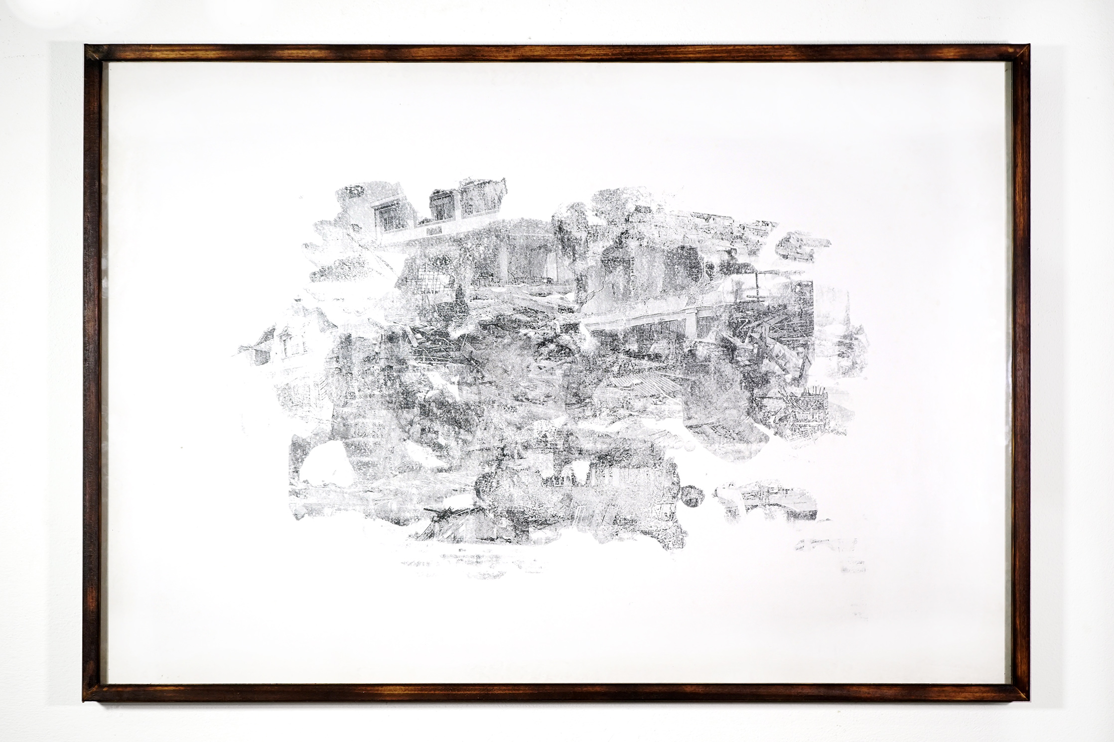climate horizon #001 - 78x113cm with frame