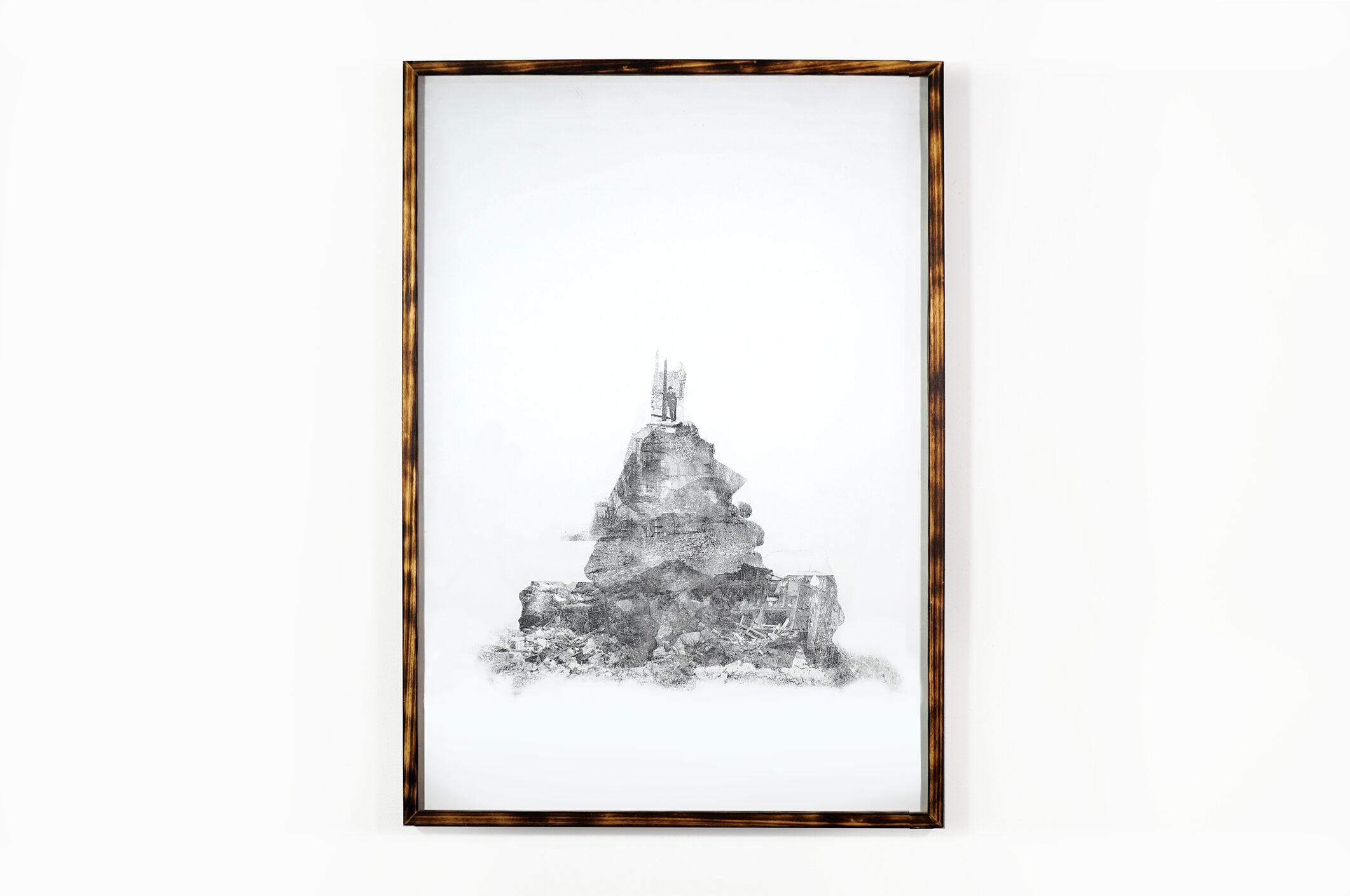 identity - 73x103 cm with frame