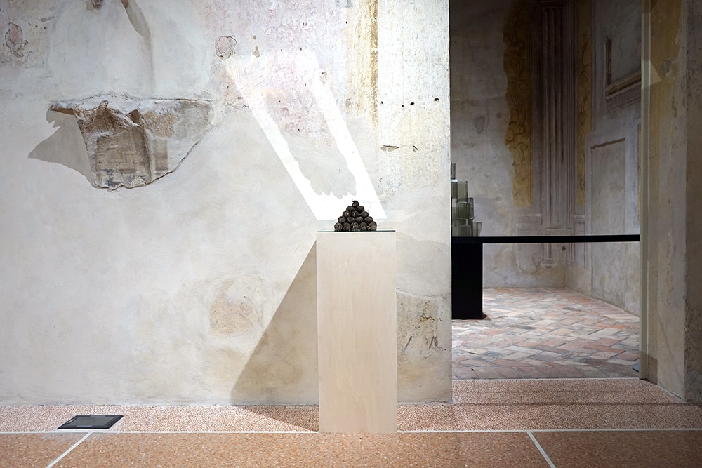 Trigger   Innesco, 2021   scultura   francesco di tillo